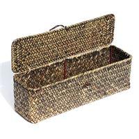 "Wine basket ""Palm tree leaf"""