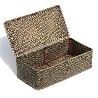 """Wine basket """"Palm tree leaf"""" for 2 bottles"""
