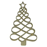 "Penden en bois ""arbre de Noel"""