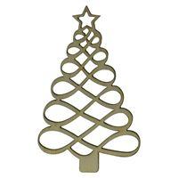 """houten etiket """"kerstboom"""""""