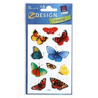 Motif colourful butterflies