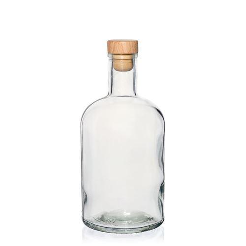 "700ml flaske i klart glas ""Gerardino"""