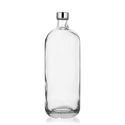 """1000ml Klarglasflasche """"Lotto"""" mit GPI-Verschluss"""