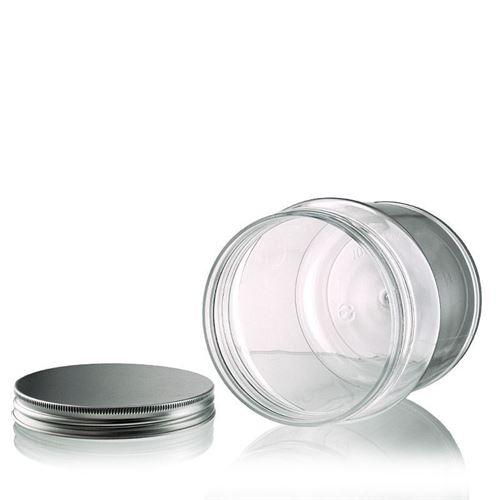 """1000ml PET-dåse """"Lulu"""", aluminium"""