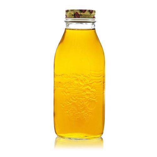 """1000ml Bottiglia universale a collo largo """"Quattro Stagioni"""" - Frutti"""