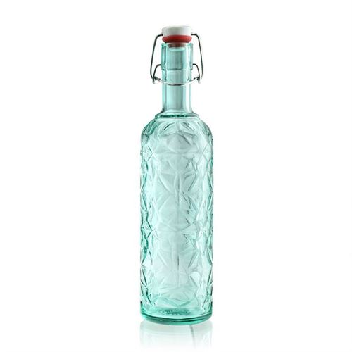 "1000ml bouteille design ""DeLuxe"" Turquoise"