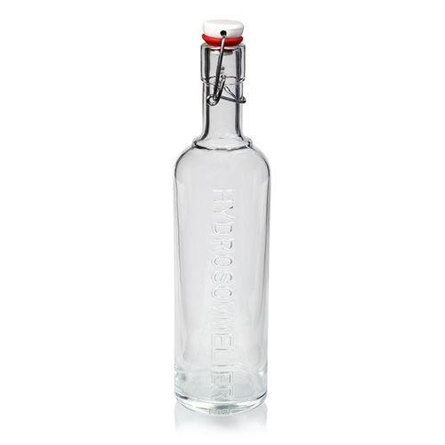 """1000ml bouteille fermeture mécanique """"Optima Hydrosommelier"""""""