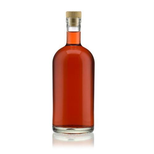 """1000ml bouteille en verre clair """"Gerardino"""""""