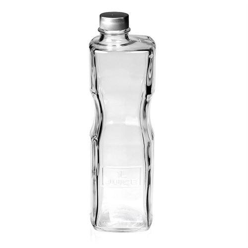 """1000ml flaske i klart glas """"Optima Juice"""""""