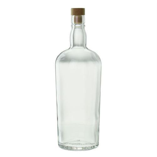 """1000ml Bottiglia in vetro chiaro """"Edimburgo"""""""
