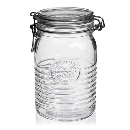 """1000ml beugelsluitiing glas """"Bormioli Seria 1825"""""""