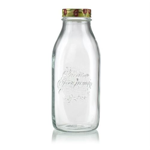 "1000 ml bredhalset flaske ""Tutti Frutti"""