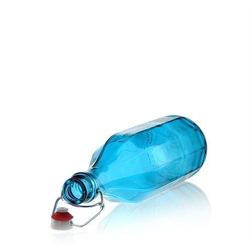 """1000ml Bügelverschlussflasche """"Florida Azure"""""""