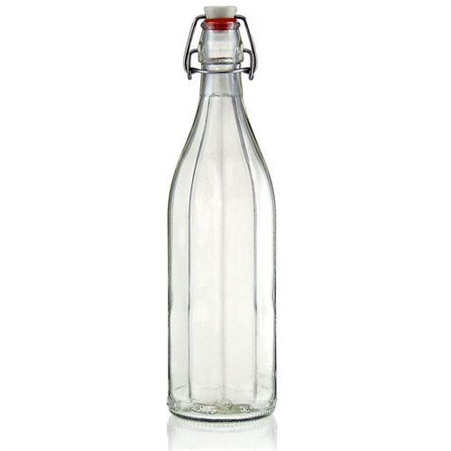 """1000ml Bottiglia con chiusura meccanica """"Bravo"""""""