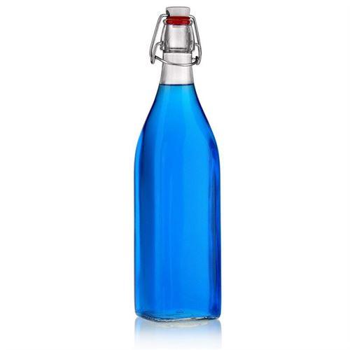 """1000ml Bottiglia con chiusura meccanica """"Jumper"""""""