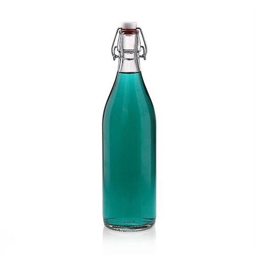 """1000ml Bottiglia con chiusura meccanica """"Milo"""""""