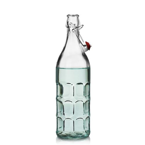 """1000ml Bottiglia con chiusura meccanica """"Rudi"""""""