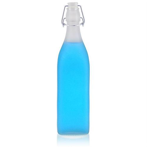 """1000ml Bottiglia gelada matta con chiusura meccanica """"Jumper"""""""