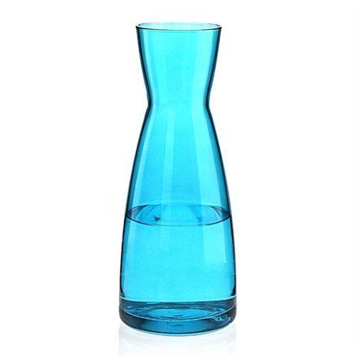 """1000ml Caraffa in vetro """"Stefano blu"""""""