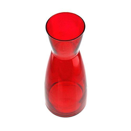 """1000ml Caraffa in vetro """"Stefano rosso"""""""