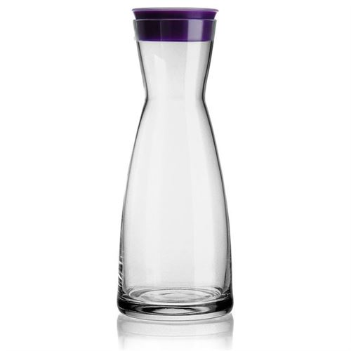 "1000ml Glaskaraffe violett ""Lazy Cowboy"""