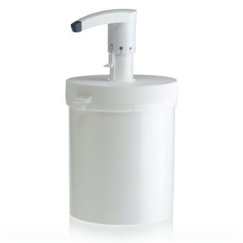 1240ml  Dispencer pompa con securybox bianco (HVDS)