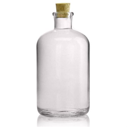 1000ml botella farmaceútica