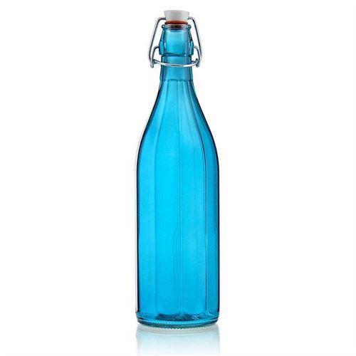"""1000ml butelka z zamknięciem pałąkowym """"Florida Azure"""""""