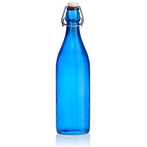 "1000ml flaske med patentlåg ""Miami Blue"""