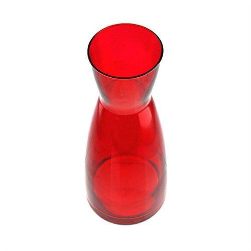 "1000ml glazen karaf ""Stefano rosso"""