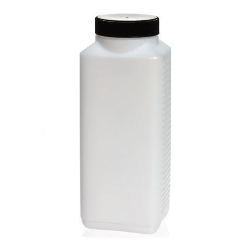 1000ml rechthoekige brede hals fles