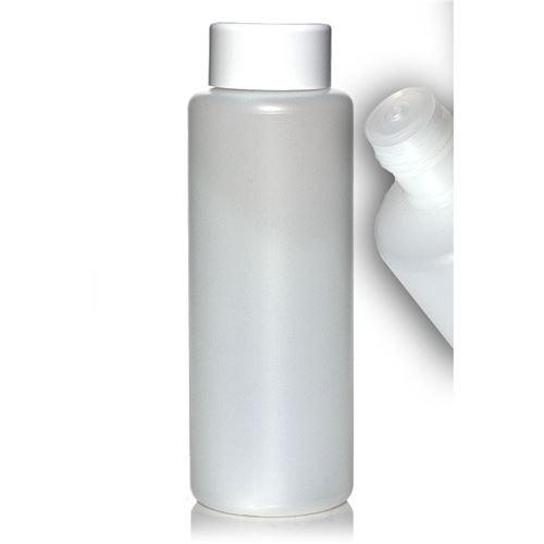 1000ml rund flaske, med sprøjteindsats