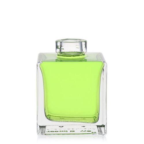 "100ml Klarglasflasche ""Cube"""