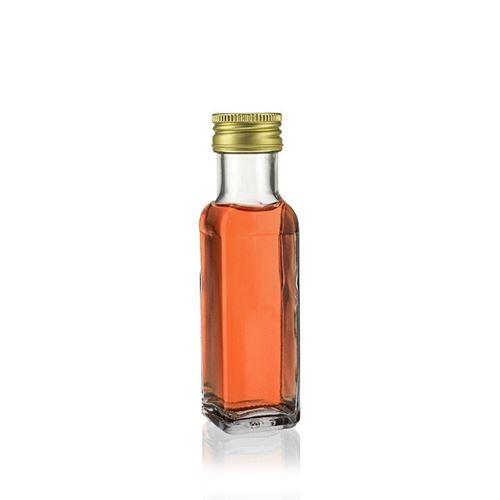 "100ml Bottiglia in vetro chiaro ""Marasca"""