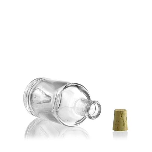 """100ml Bottiglia in vetro chiaro""""Vienna"""""""
