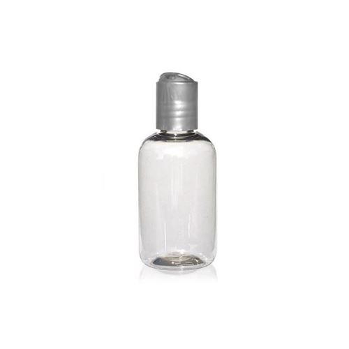 "100ml PET-Flasche ""Boston"" DiscTop silber"