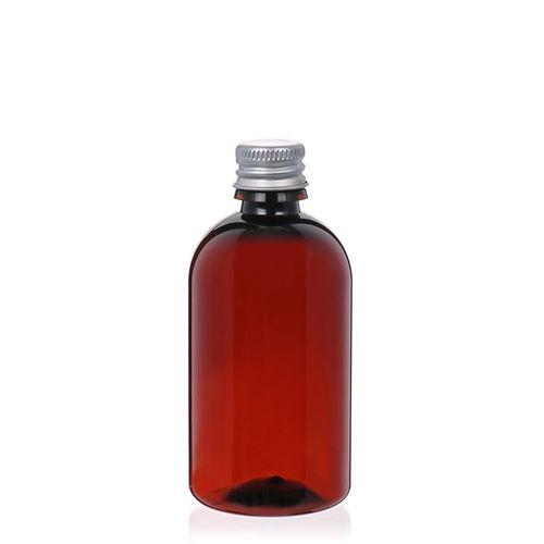 """100ml PET-Flasche-braun """"Easy Living"""""""