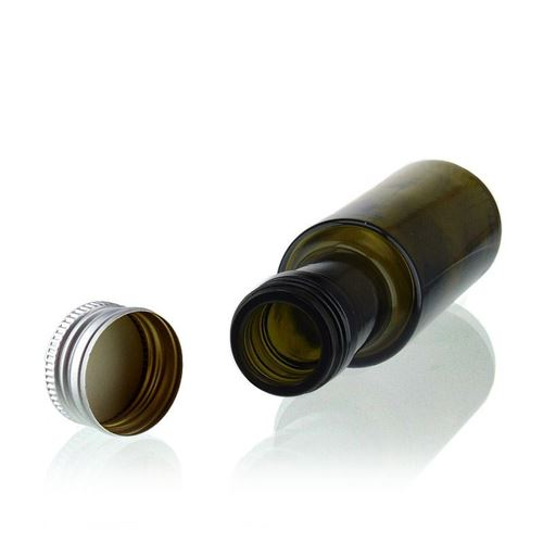 """100ml bouteille verre ancient """"Ronda"""""""
