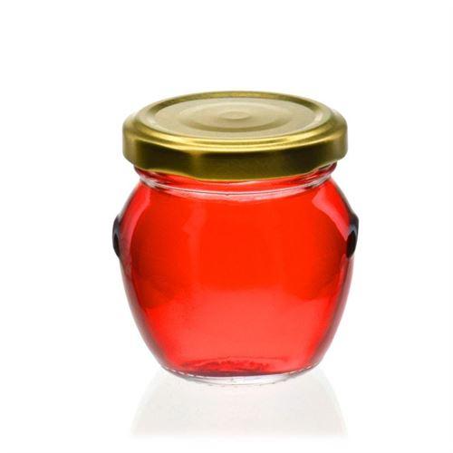 "100ml decorative jar with handle ""Michelle"""