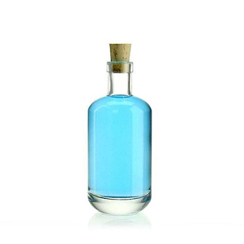 "100ml glasflaske ""Vienna"", klar"