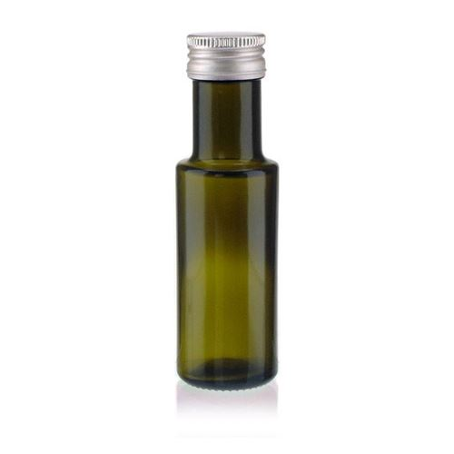 "100ml glazen fles antiek groen ""Ronda"""