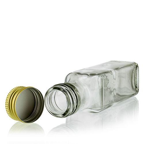 "100ml butelka szklana ""Marasca"", przezroczysta"