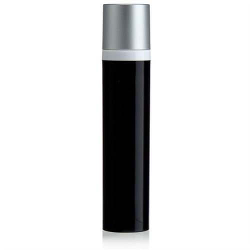 100ml Airless Dispenser black/silver cap