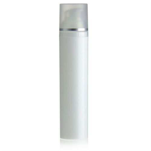 100ml Airless Dispenser white/silver line