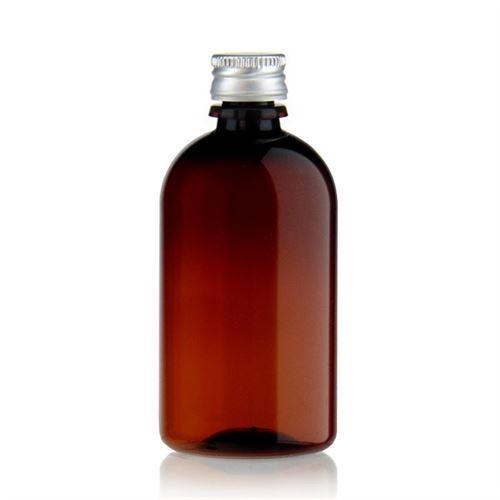 """100ml Bottiglia PET nel colore marrone """"Easy Living"""""""