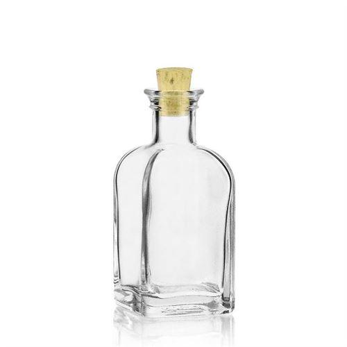 """100ml Bottiglia in vetro chiaro """"Farmacista Carre"""""""