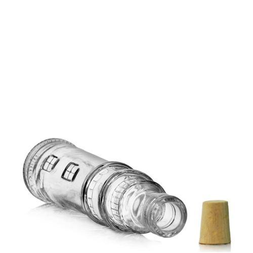 """100ml Bottiglia in vetro chiaro """"Faro"""""""
