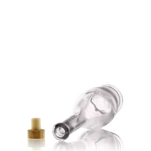 "100ml Bottiglia in vetro chiaro ""Gina"""