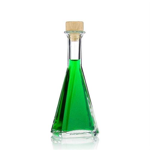 """100ml Bottiglia in vetro chiaro """"Magic"""""""