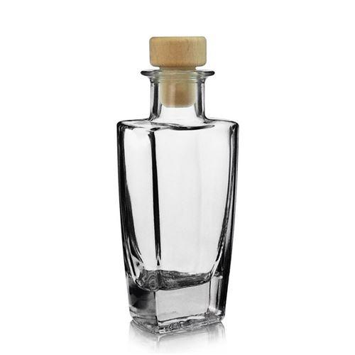 """100ml Bottiglia in vetro chiaro """"Sissi"""""""